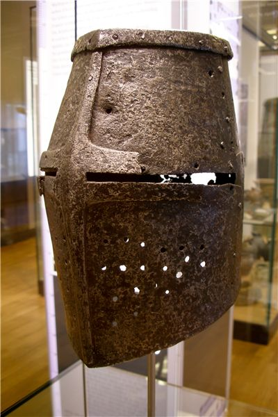 Picture Of Ancient German Armor Helmet