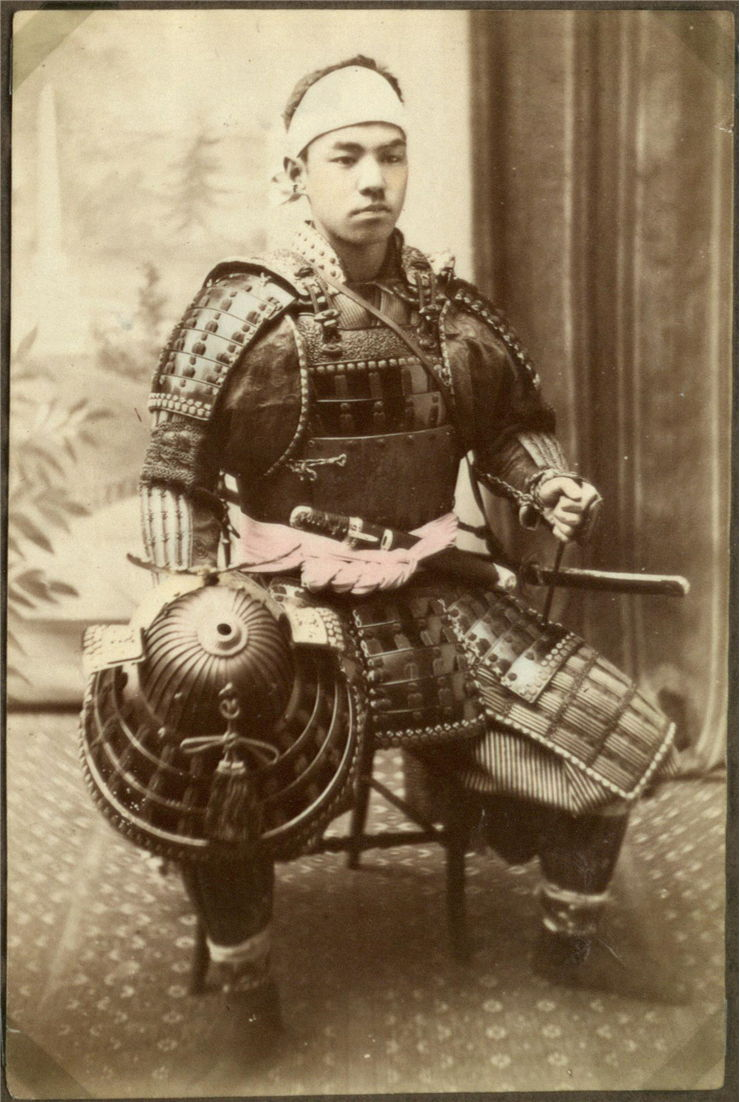 Picture Of Armor Of Japanese Warrior