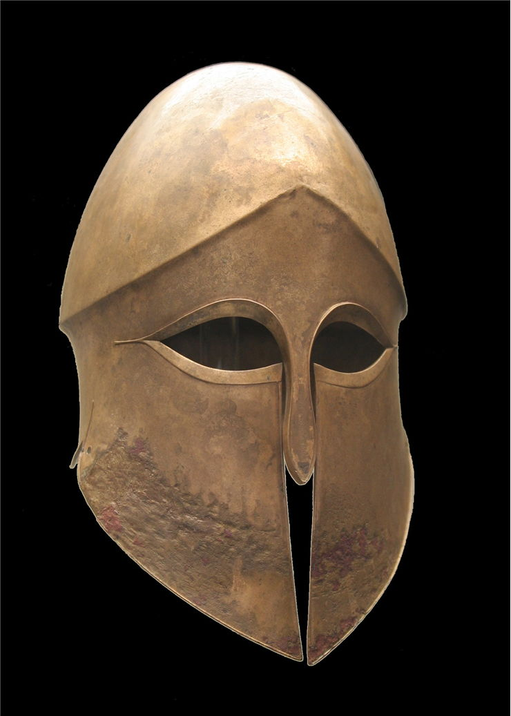 Picture Of Corinthian Helmet 500 Bce