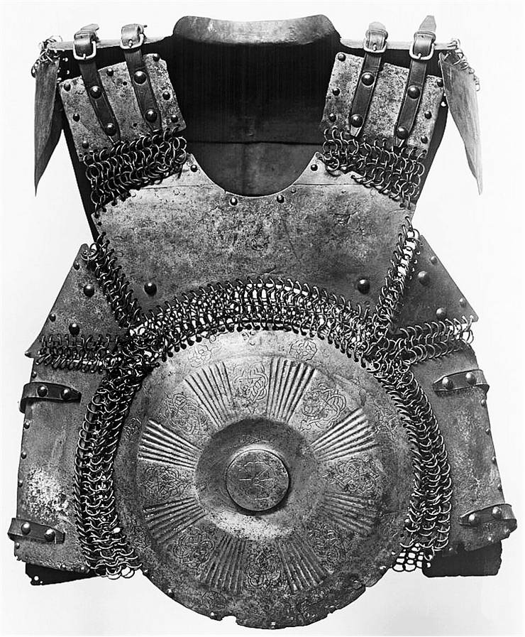 Picture Of Early 16th Century Ottoman Empire Mirror Armour Krug