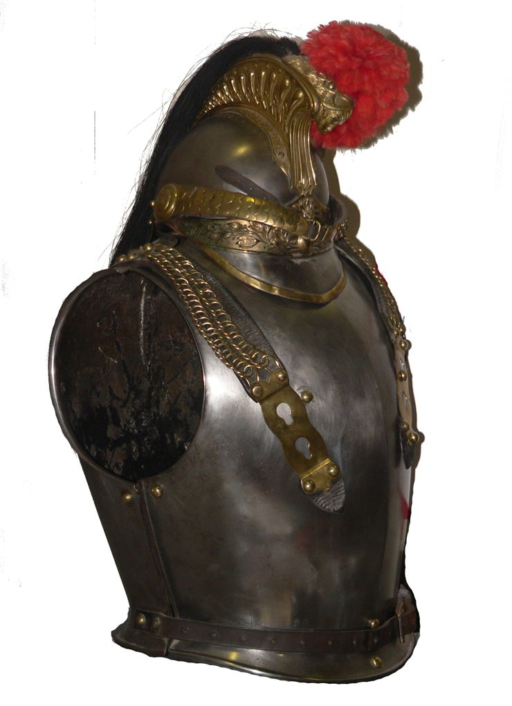 Picture Of French Cuirassier Armour 1854