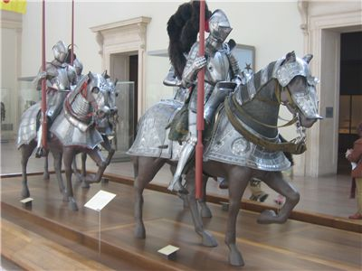 Picture Of Heavily Armoured Riders