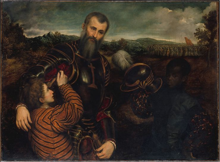 Picture Of Man In Armor