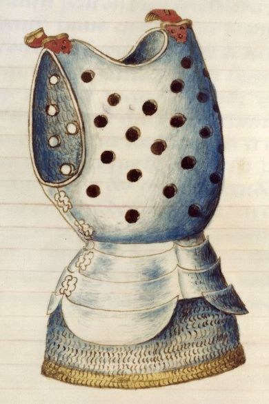 Picture Of Medieval Cuirass Armor