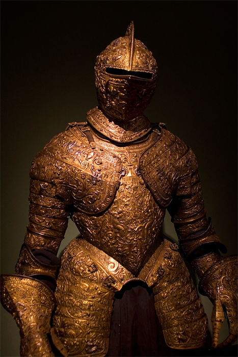 Picture Of Parade Armour Of Henry 2 Of France 1555