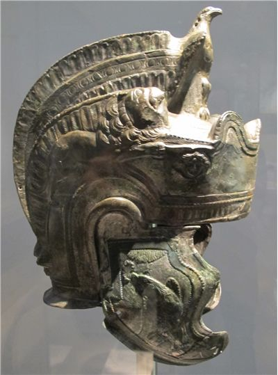 Picture Of Roman Cavalry Parade Helmet