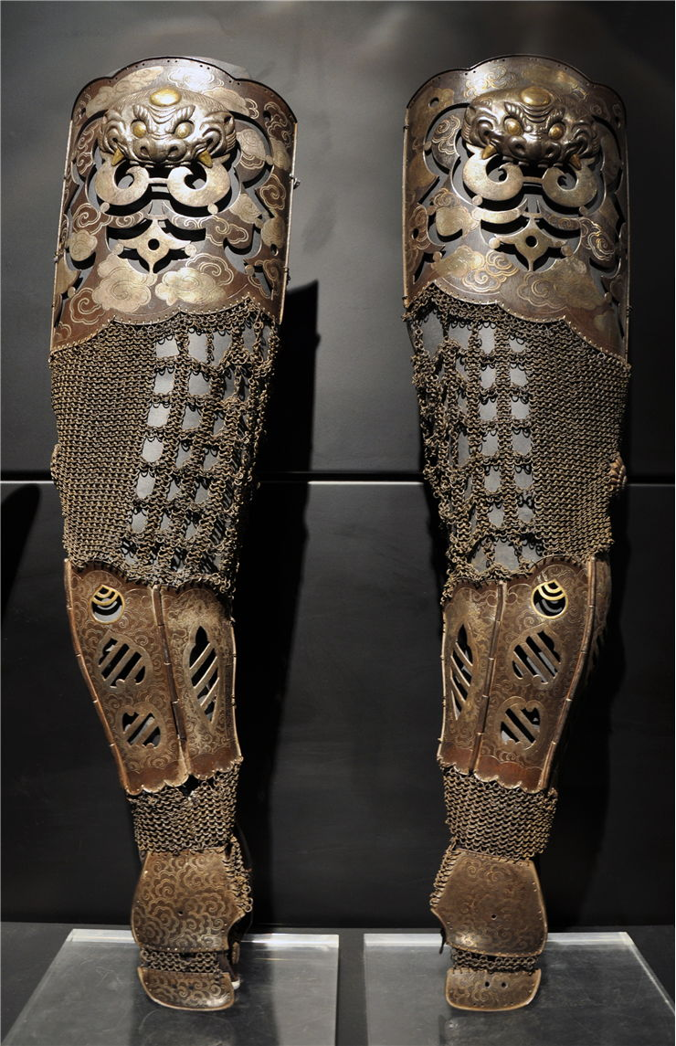 Picture Of Samurai Armour Sleeves