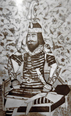 Picture Of Tamerlan Central Asian Laminar Armor